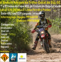 6º ENDURO DE COCAL DO SUL
